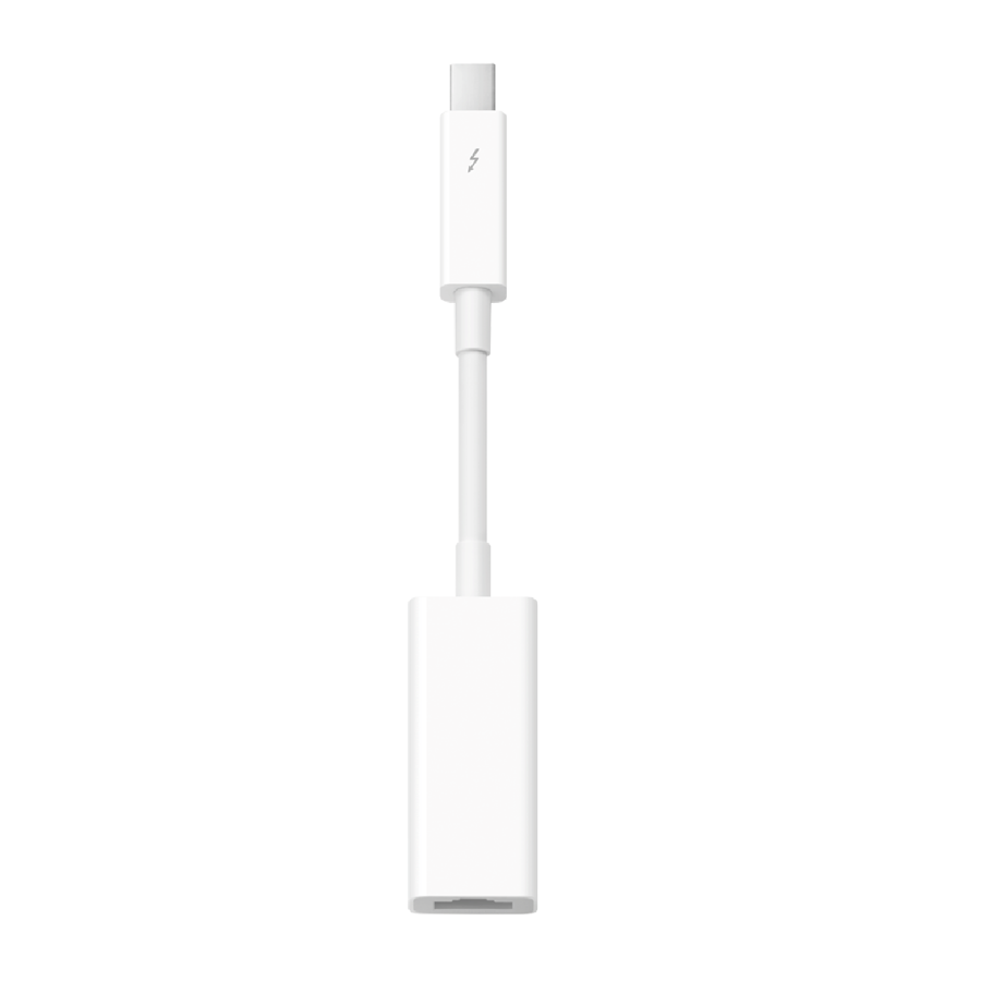 Apple Thunderbolt til Gigabit Ethernet-adapter