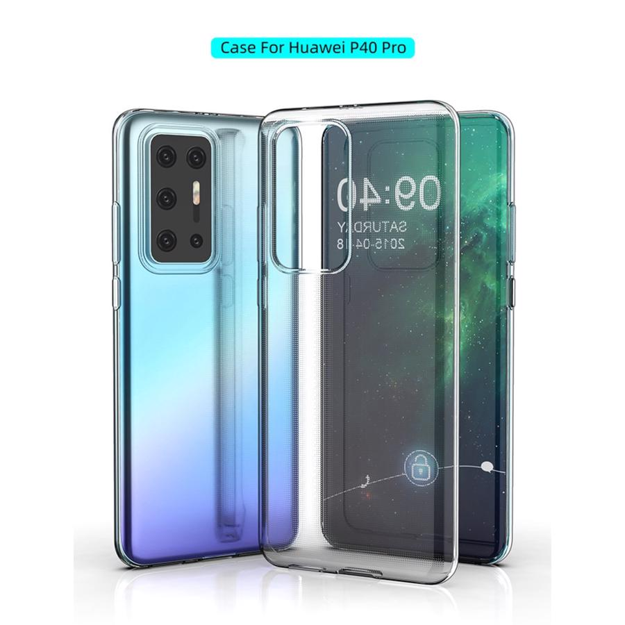 Huawei P40 Pro Clear TPU Cover