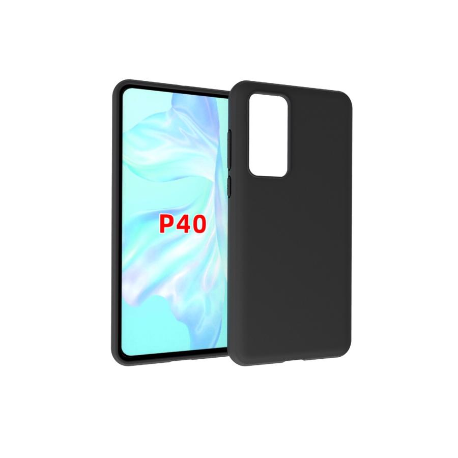 Huawei P40 Sort TPU Cover