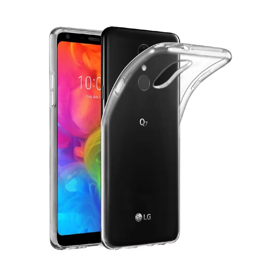 LG Q7 Plus Clear Cover