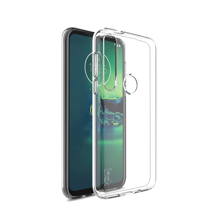 Motorola G8 Plus Clear TPU Cover