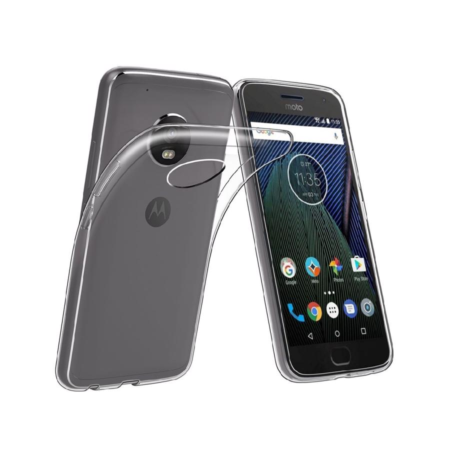 Moto E5 Plus Clear Cover