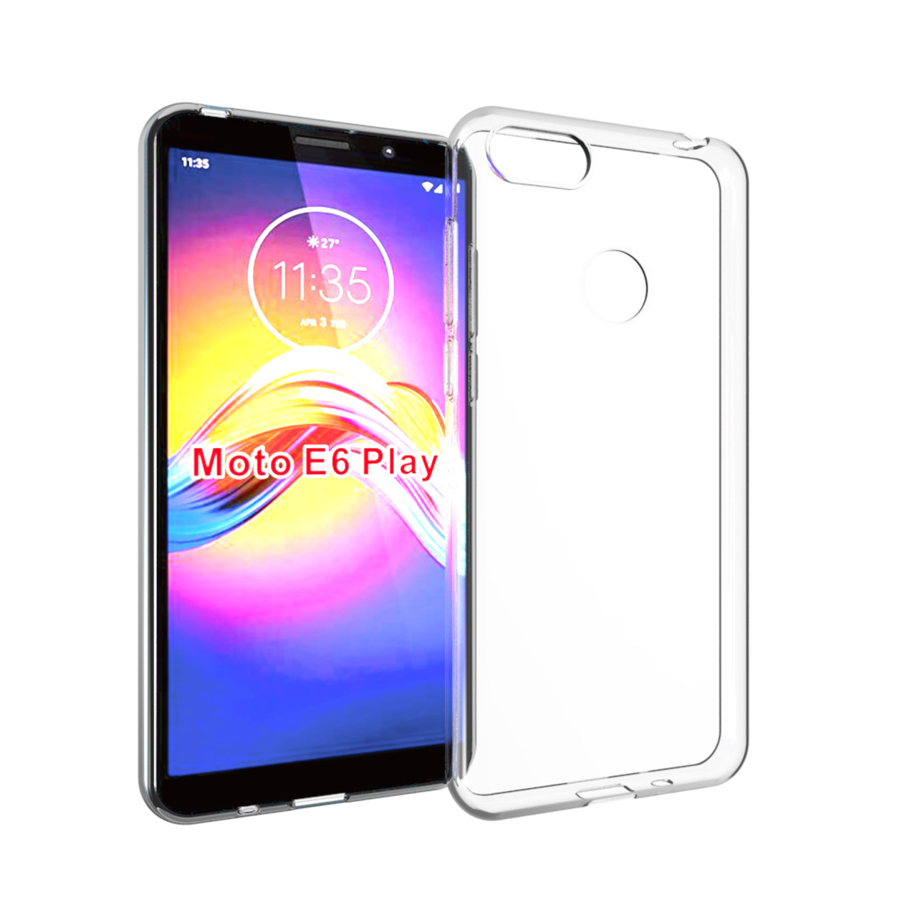 Moto E6 Play Clear Cover