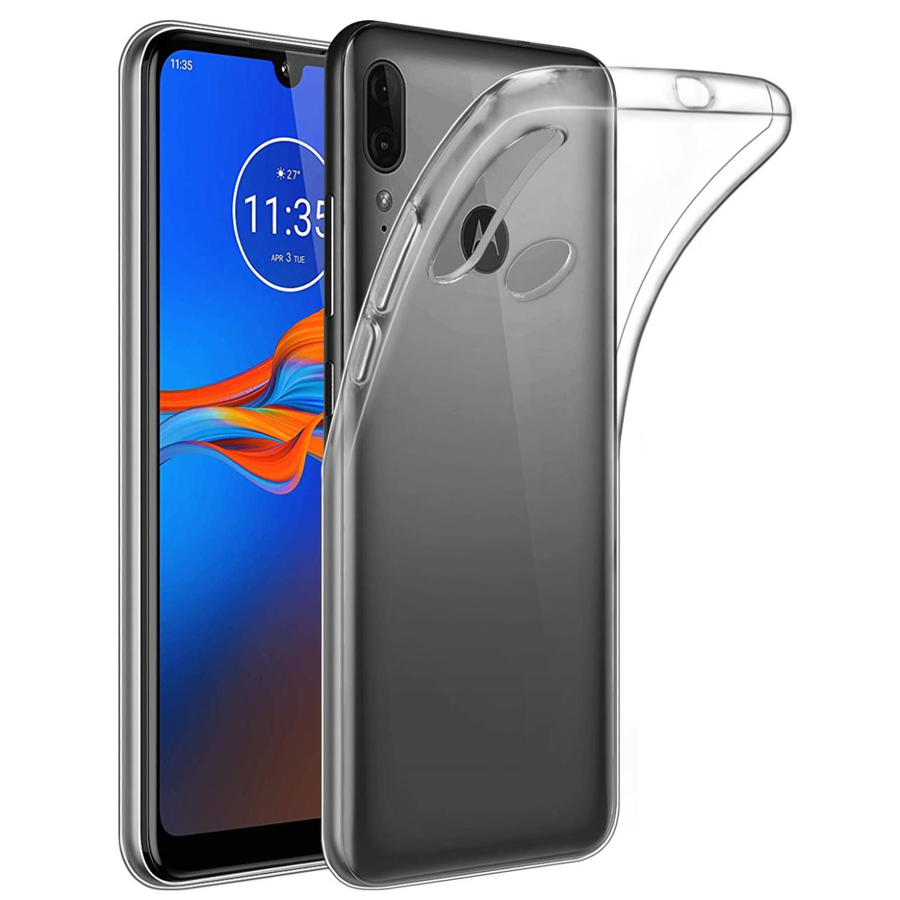 Moto E6 Plus Clear Cover