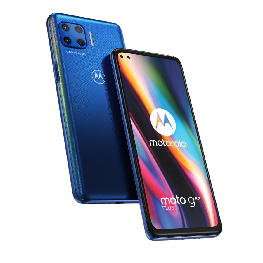 Motorola G 5G Plus 128GB Surfing Blue Dual-SIM