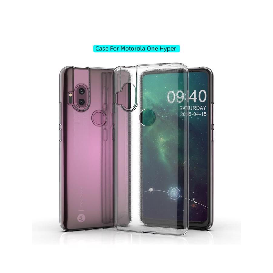 Motorola One Hyper Clear Cover