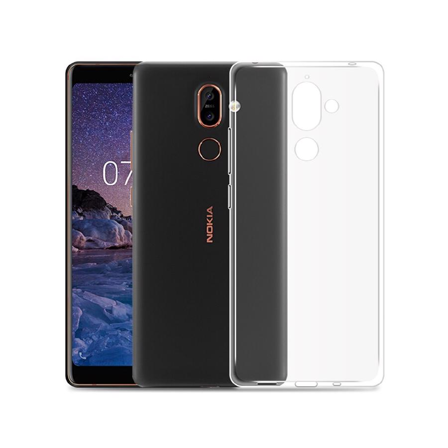 Nokia 7 Plus Clear Cover