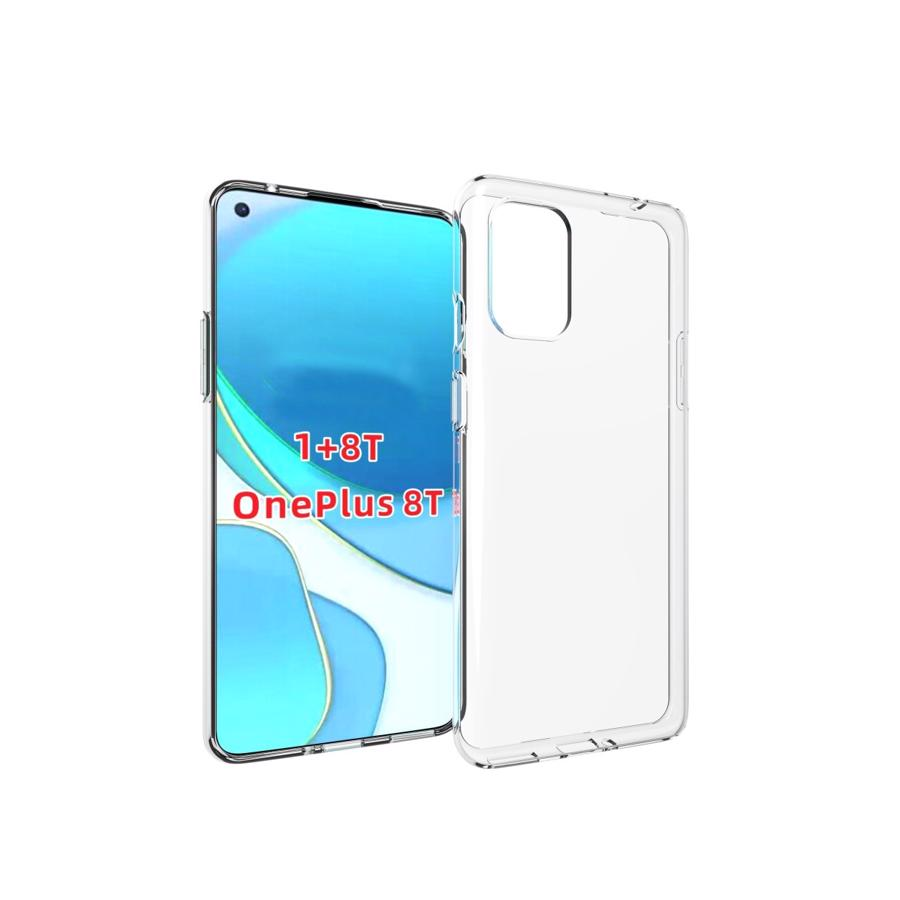 OnePlus 8T Clear TPU Cover