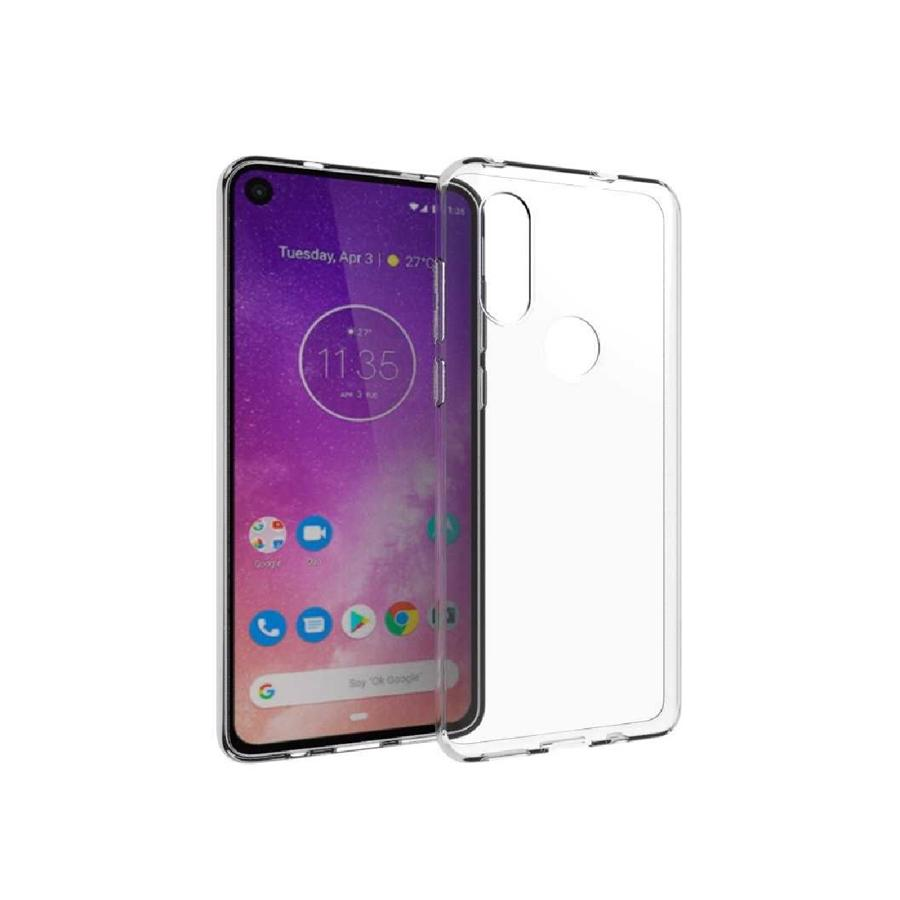 Motorola One Vision Clear Cover